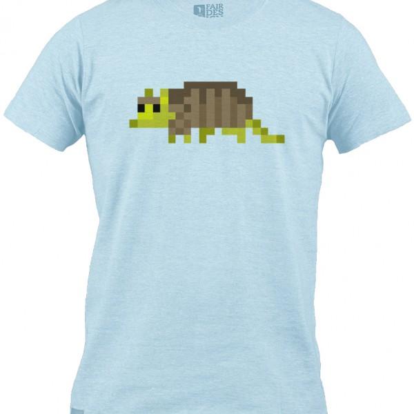 Armadillo T-shirt - Blue