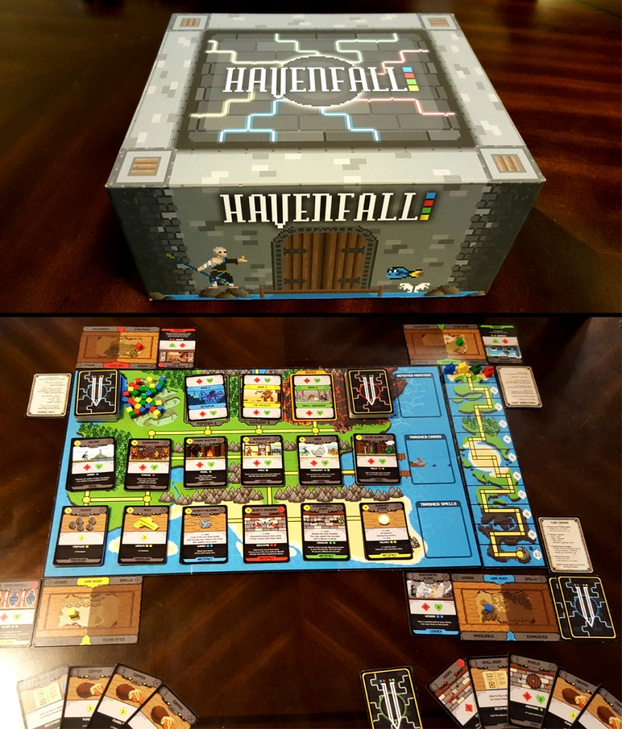 Havenfall Box and Game