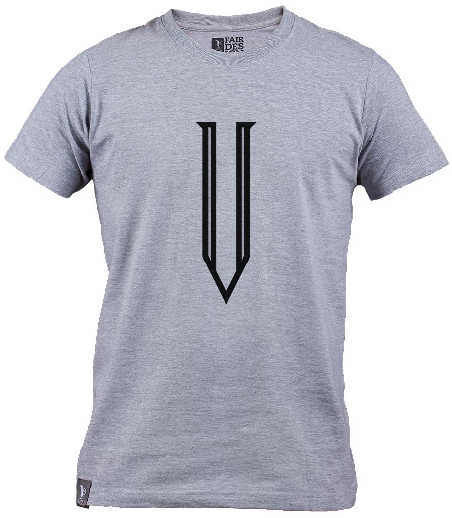 Logo T-shirt - Gray