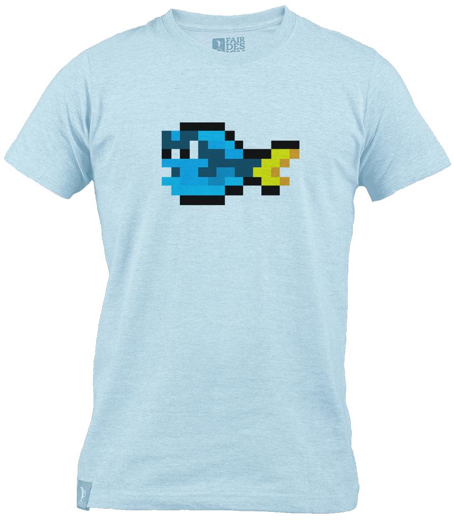 Fish T-shirt - Blue